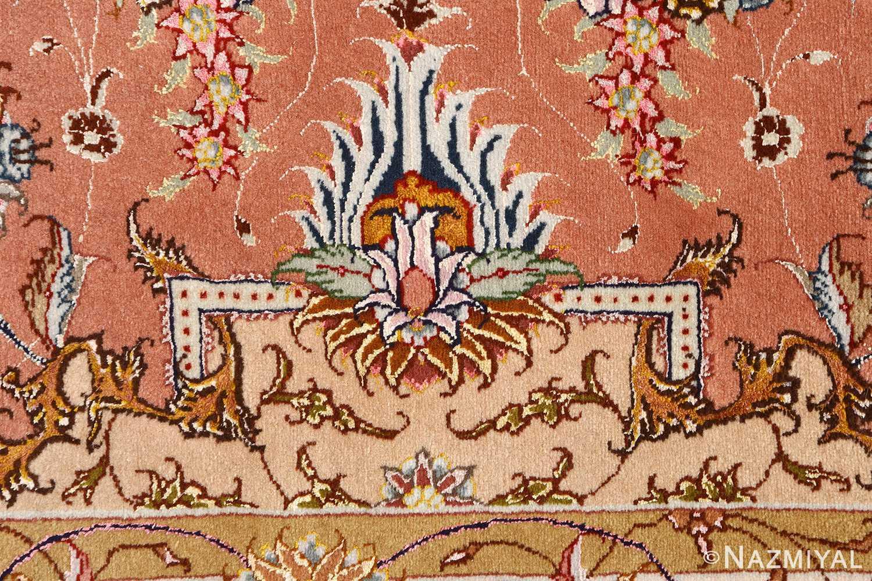 large vintage tabriz persian rug 51142 bush Nazmiyal