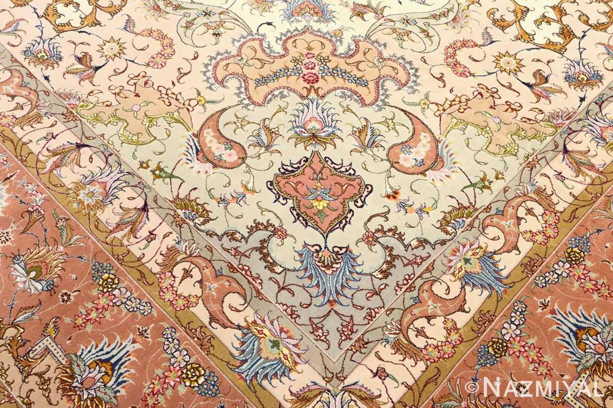 large vintage tabriz persian rug 51142 design Nazmiyal
