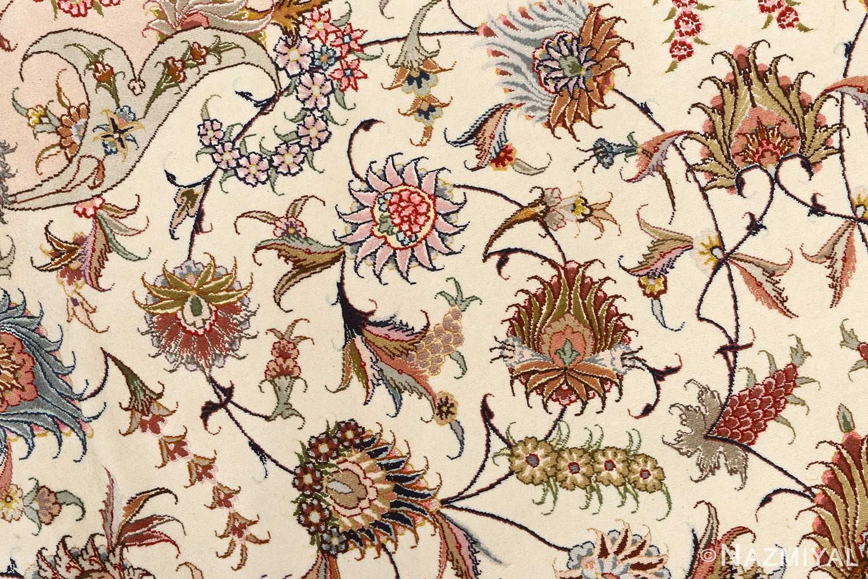 large vintage tabriz persian rug 51142 field Nazmiyal