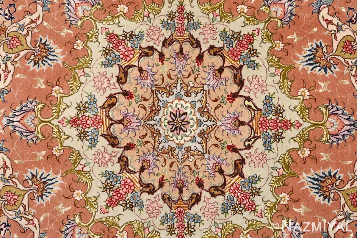 large vintage tabriz persian rug 51142 medallion Nazmiyal