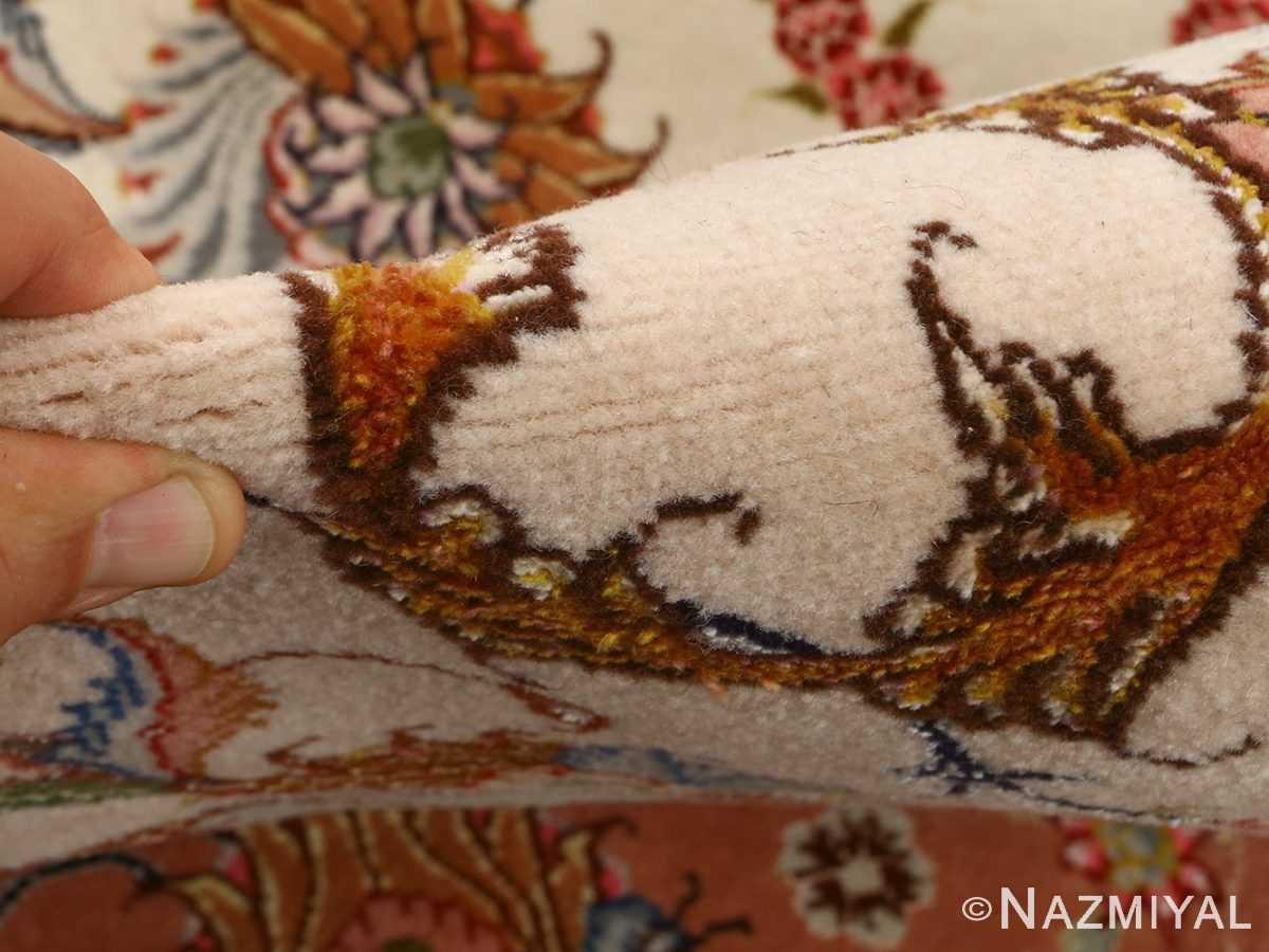 large vintage tabriz persian rug 51142 pile Nazmiyal