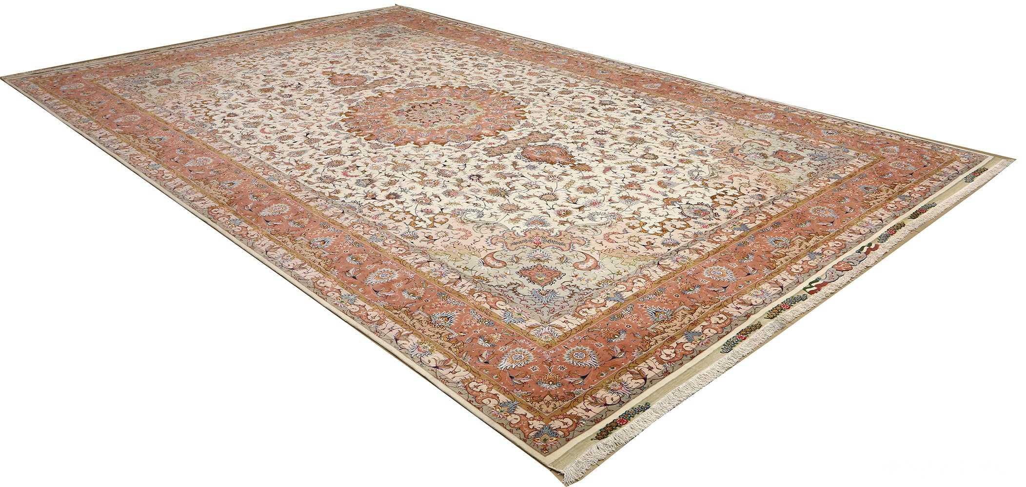 large vintage tabriz persian rug 51142 side Nazmiyal
