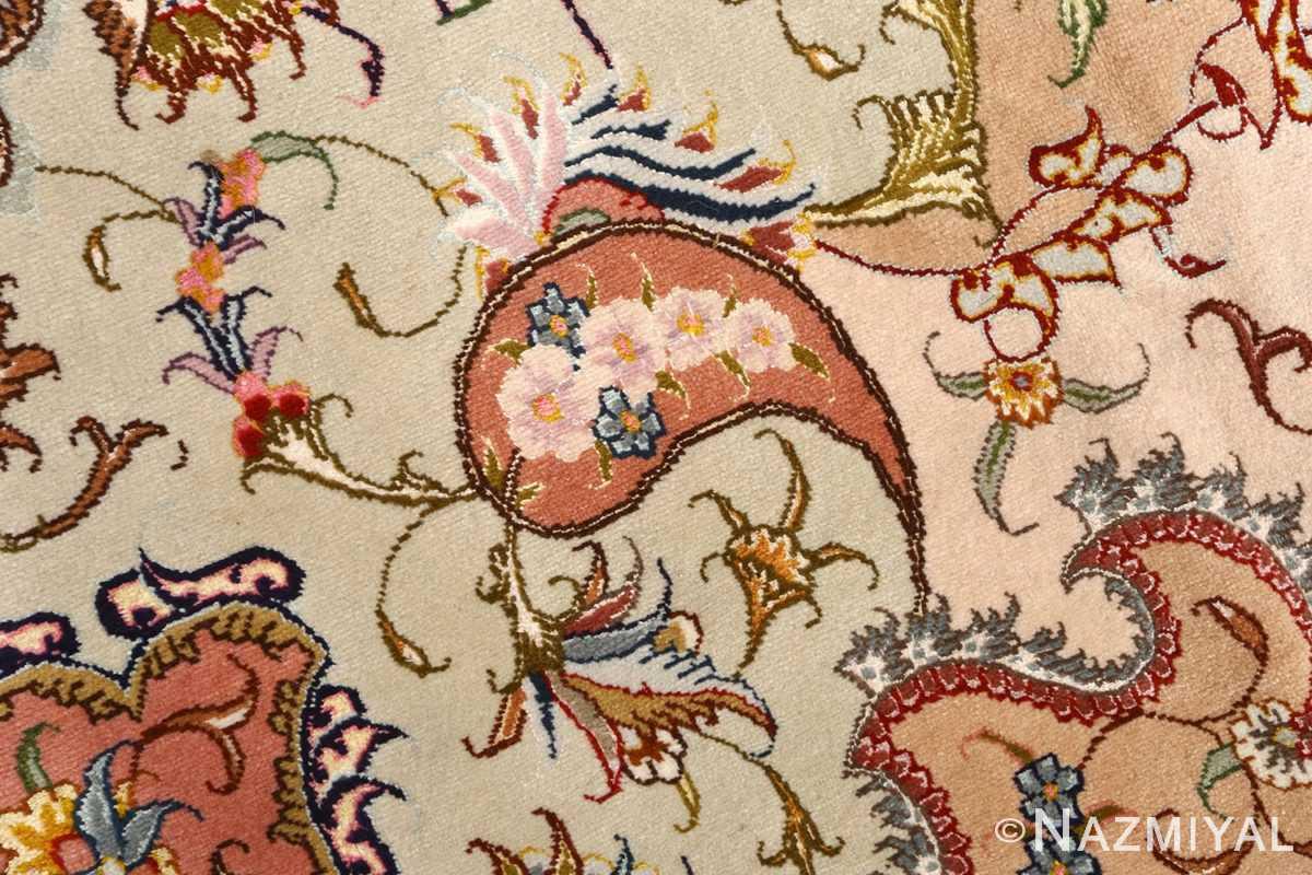 large vintage tabriz persian rug 51142 trio Nazmiyal