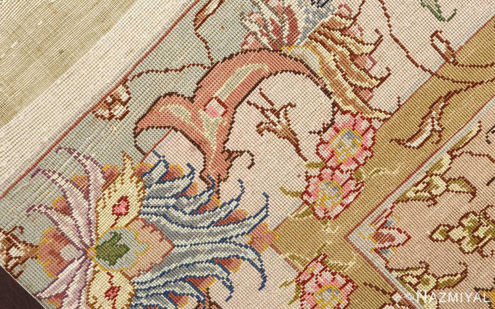 large vintage tabriz persian rug 51142 weave Nazmiyal