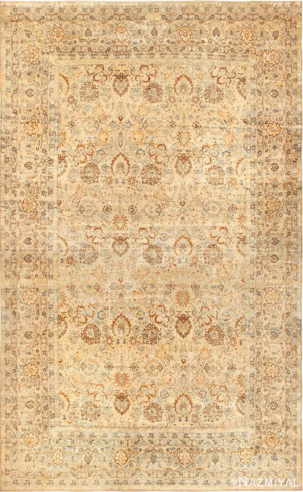 oversized animal motif kerman persian rug 49330 Nazmiyal