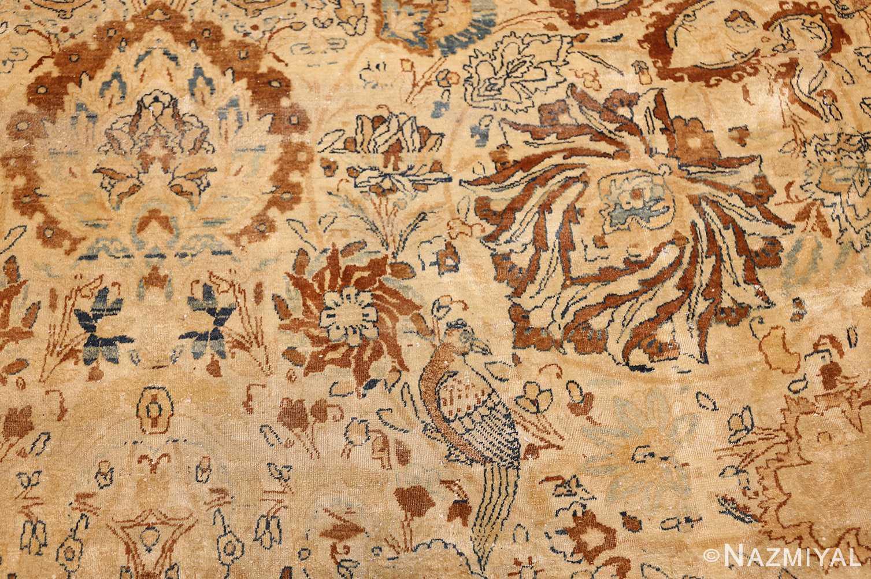 oversized animal motif kerman persian rug 49330 bird Nazmiyal