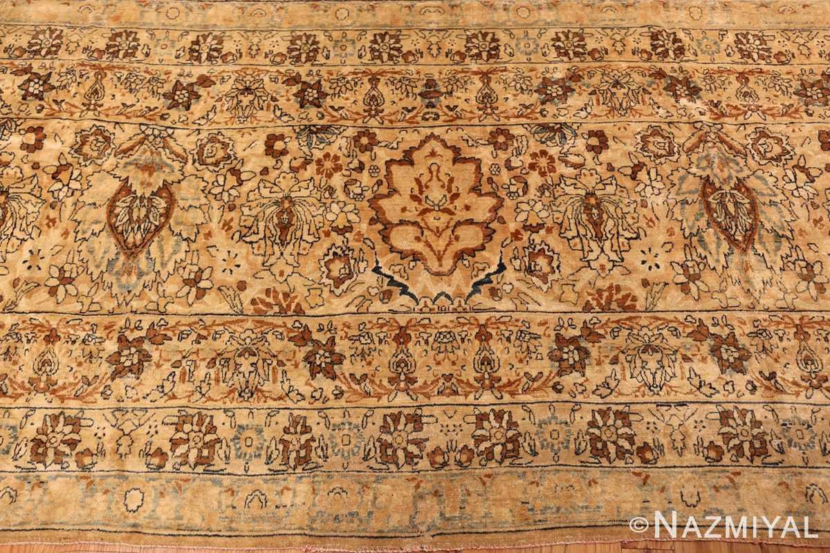 oversized animal motif kerman persian rug 49330 border Nazmiyal