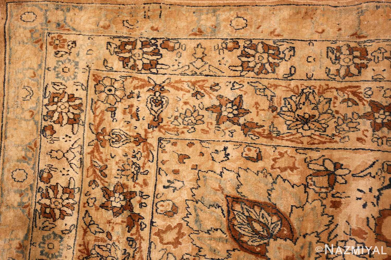 oversized animal motif kerman persian rug 49330 corner Nazmiyal
