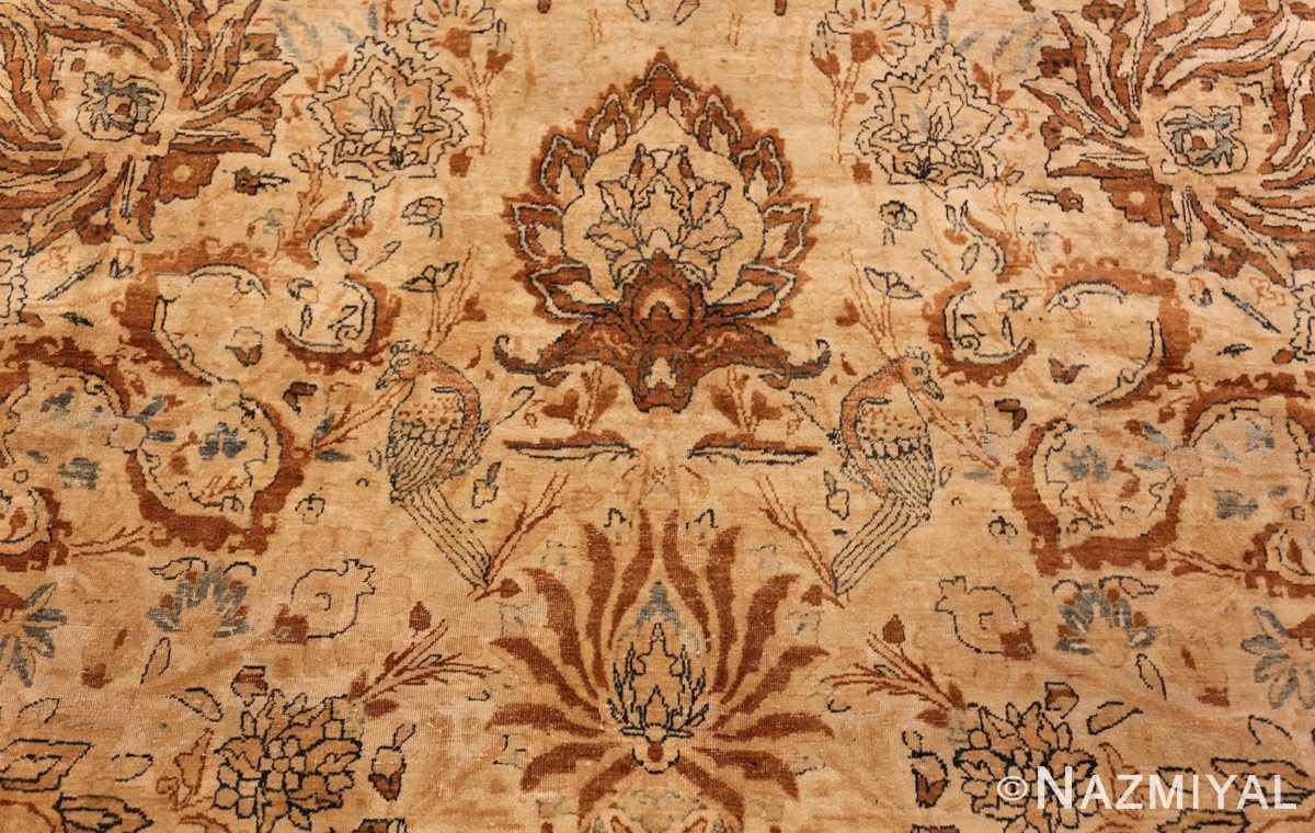 oversized animal motif kerman persian rug 49330 darkside Nazmiyal