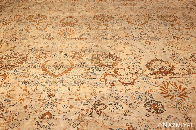 oversized animal motif kerman persian rug 49330 field Nazmiyal