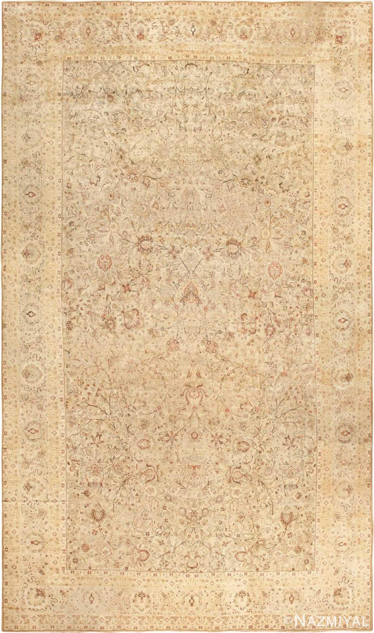 oversized antique kerman persian rug 49335 Nazmiyal