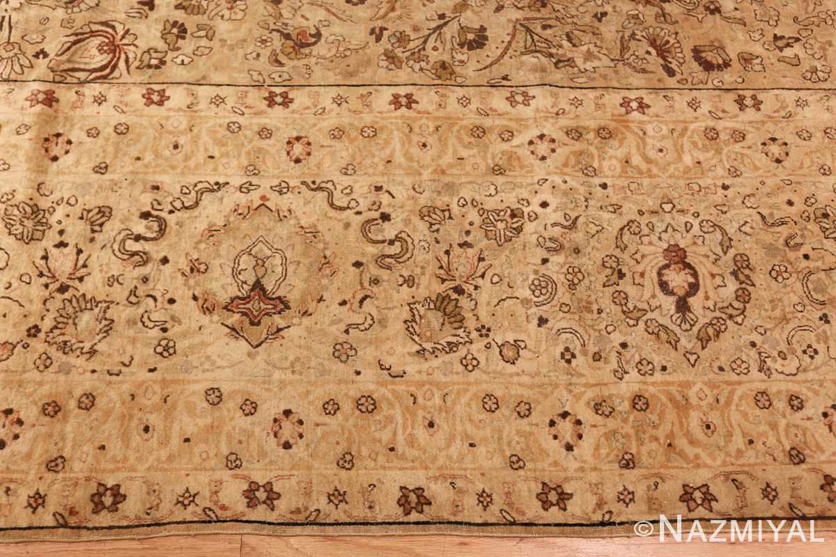 oversized antique kerman persian rug 49335 border Nazmiyal