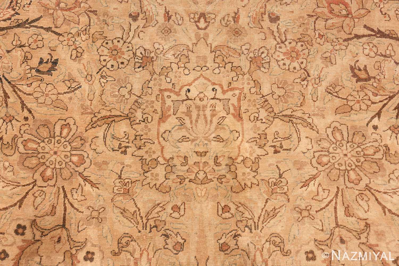oversized antique kerman persian rug 49335 flowers Nazmiyal