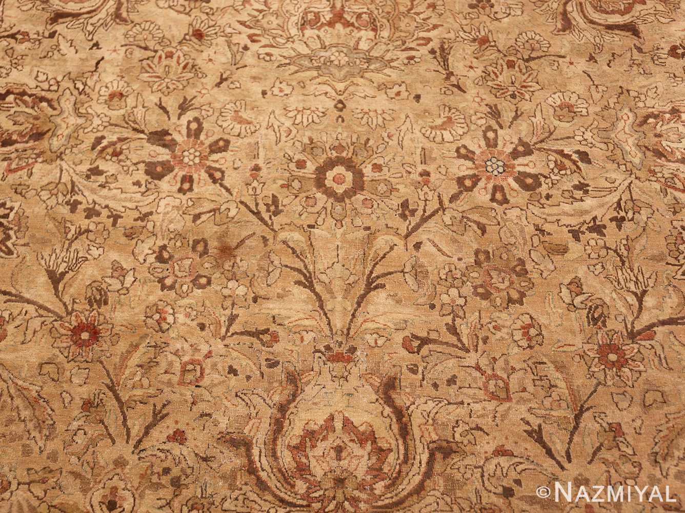 oversized antique kerman persian rug 49335 vase Nazmiyal