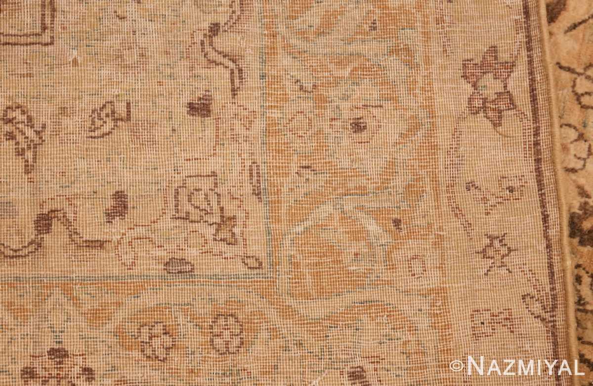 oversized antique kerman persian rug 49335 weave Nazmiyal
