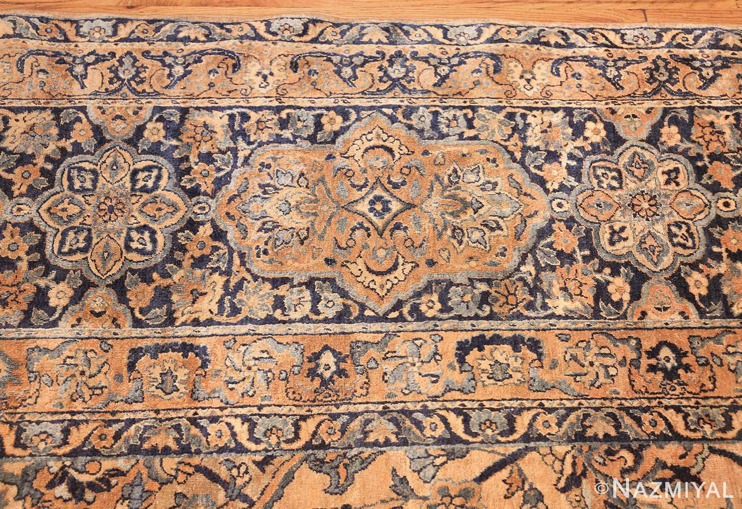 oversized antique kerman persian rug 50617 border Nazmiyal