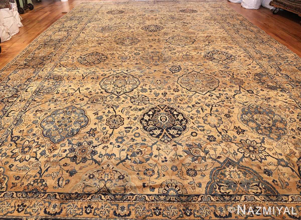 oversized antique kerman persian rug 50617 full Nazmiyal