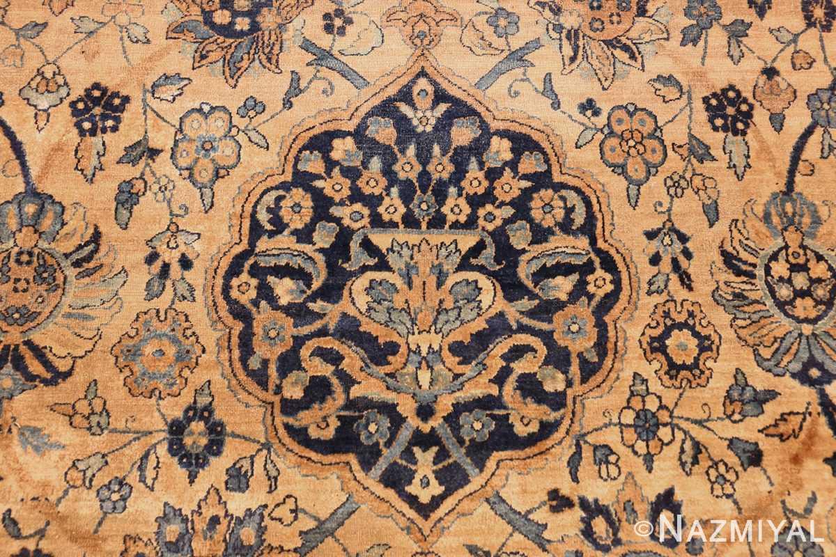 oversized antique kerman persian rug 50617 vase Nazmiyal