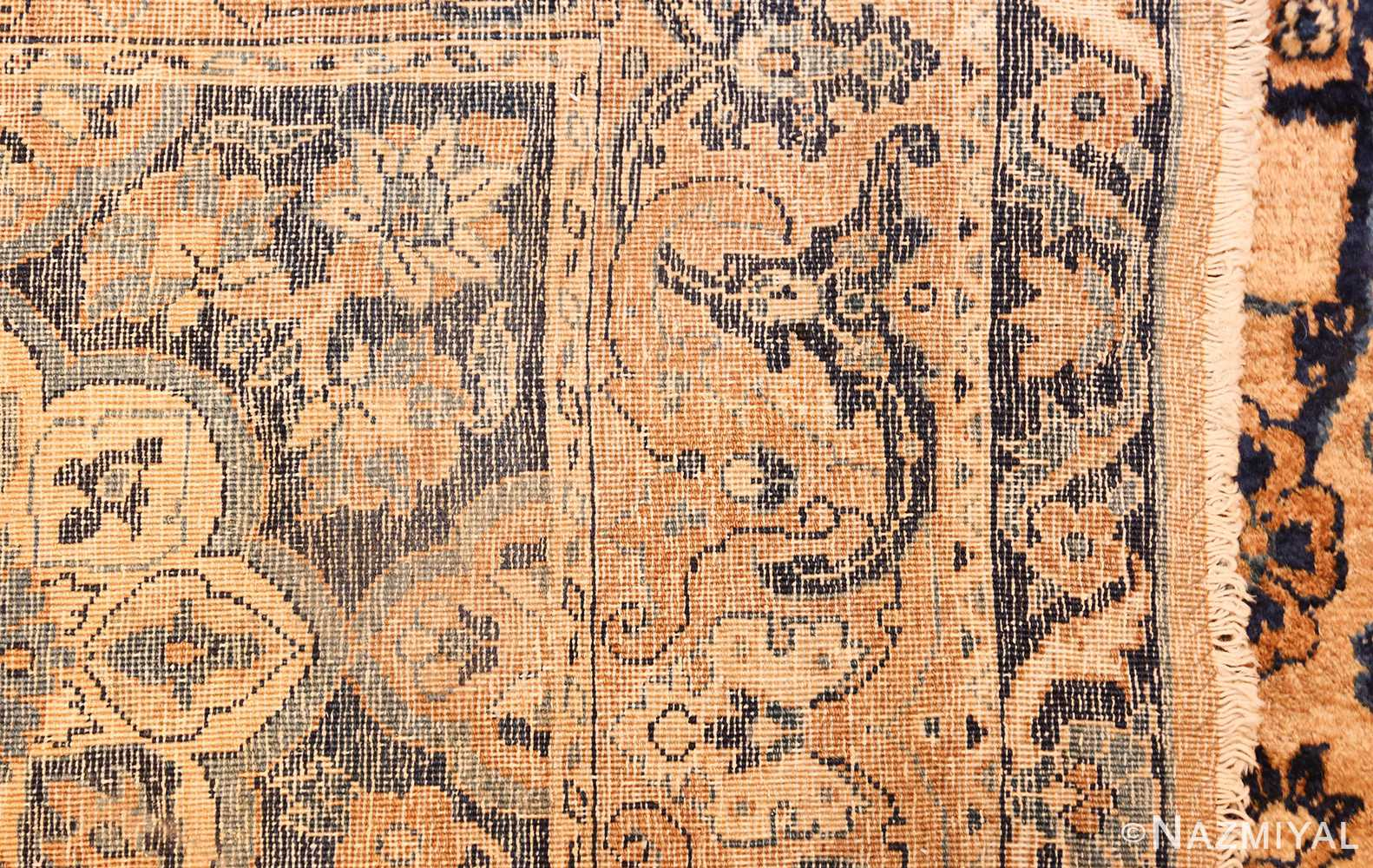 oversized antique kerman persian rug 50617 weave Nazmiyal