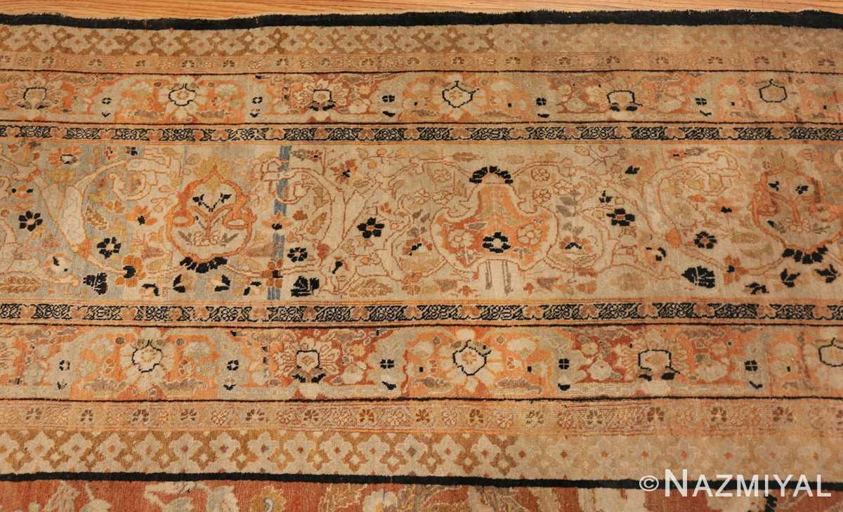 oversized antique tabriz haji jalili persian rug 49317 border Nazmiyal