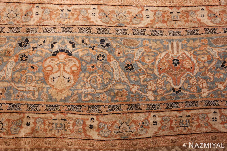 oversized antique tabriz haji jalili persian rug 49317 closeup Nazmiyal