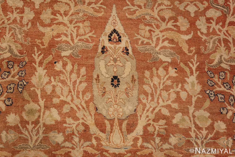 oversized antique tabriz haji jalili persian rug 49317 pine Nazmiyal