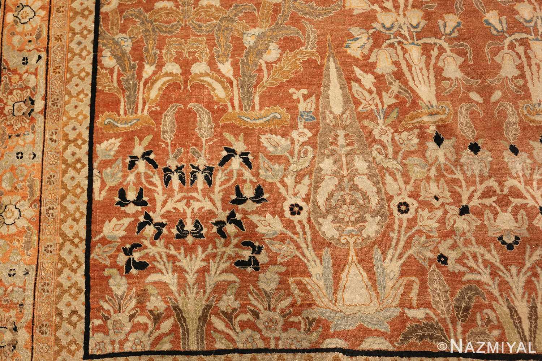 oversized antique tabriz haji jalili persian rug 49317 side Nazmiyal