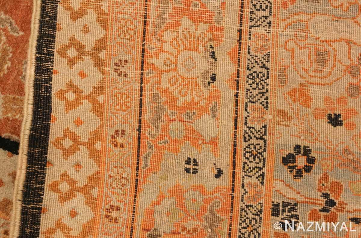 oversized antique tabriz haji jalili persian rug 49317 weave Nazmiyal