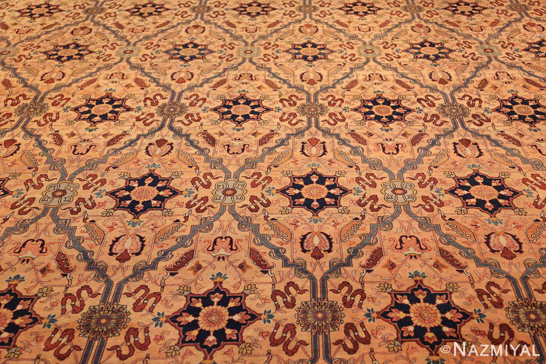 oversized antique tabriz persian rug 49297 field Nazmiyal
