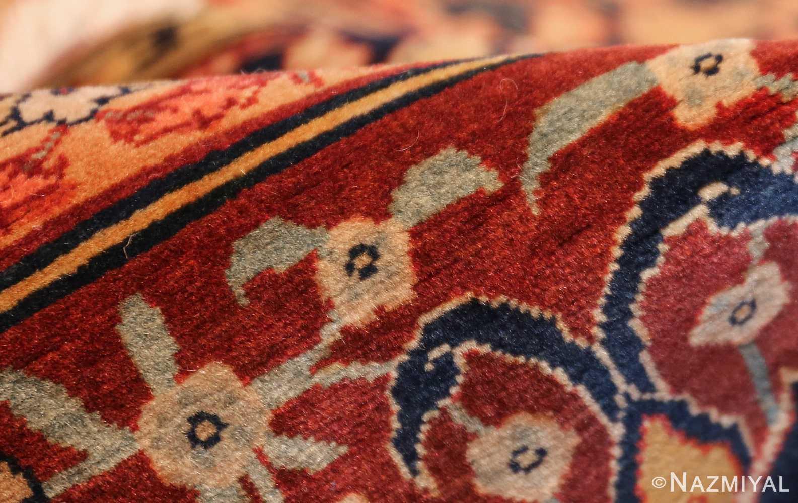 oversized antique tabriz persian rug 49297 pile Nazmiyal