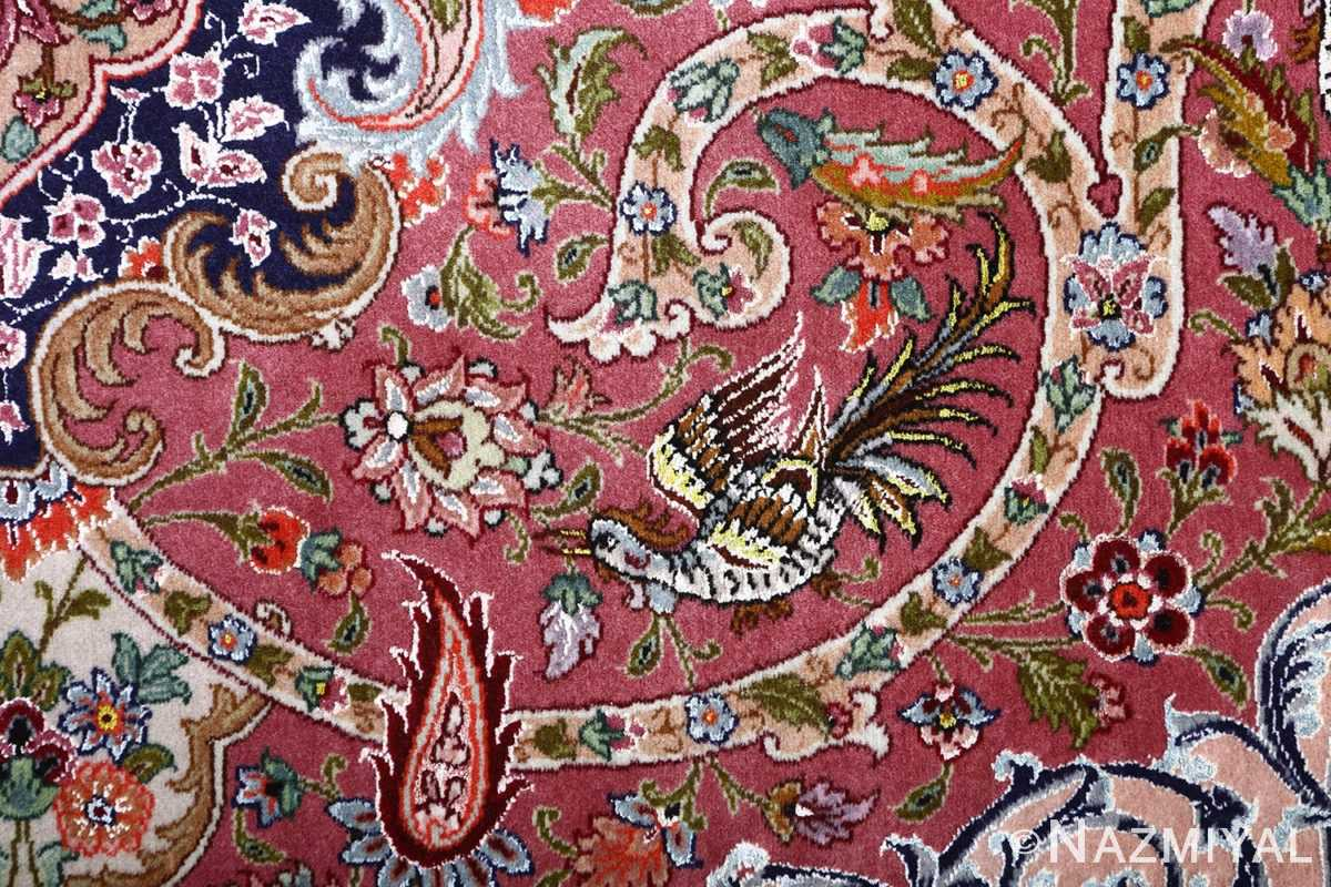 oversized hunting scene vintage tabriz persian rug 51117 chain Nazmiyal