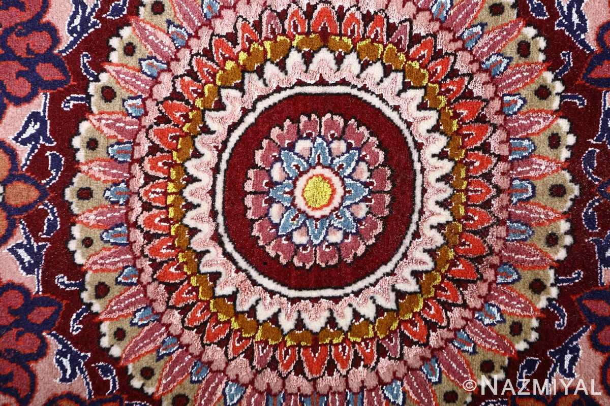 oversized hunting scene vintage tabriz persian rug 51117 lily Nazmiyal
