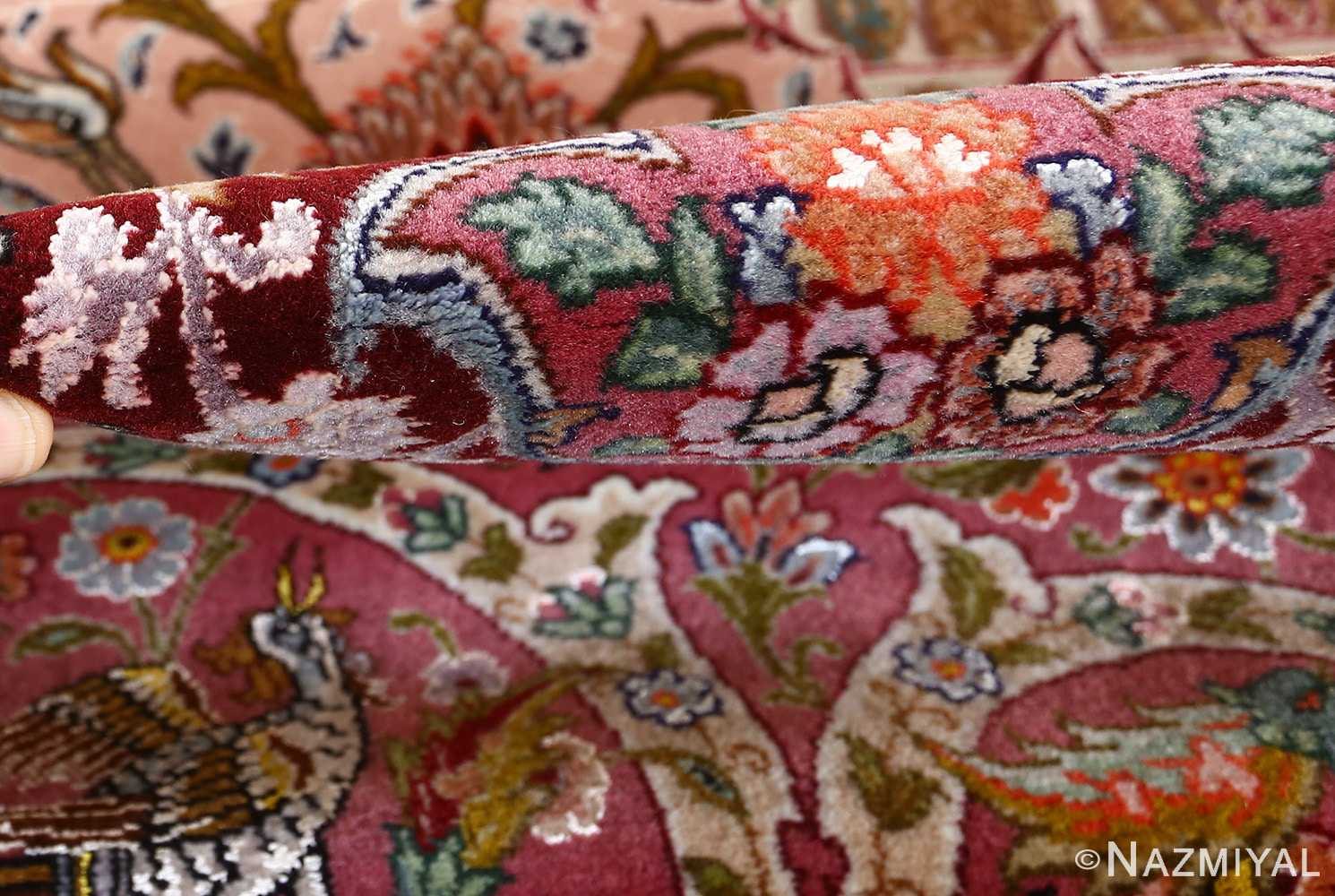 oversized hunting scene vintage tabriz persian rug 51117 pile Nazmiyal