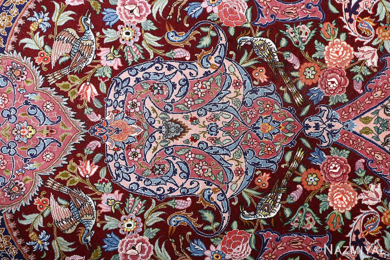 oversized hunting scene vintage tabriz persian rug 51117 tiara Nazmiyal