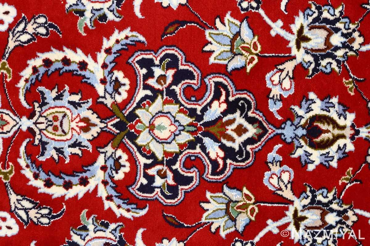 red background vintage isfahan persian rug 51151 tiara Nazmiyal