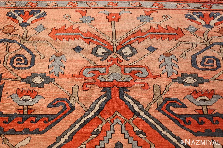 roomsize antique serapi persian rug 49326 top Nazmiyal