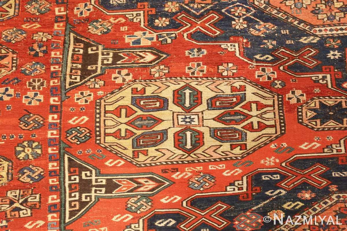roomsize antique soumak caucasian rug 49340 golden Nazmiyal
