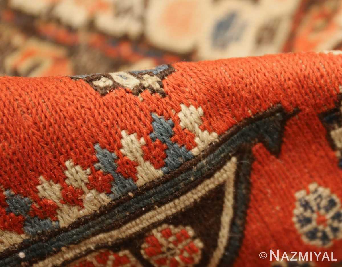 roomsize antique soumak caucasian rug 49340 pile Nazmiyal
