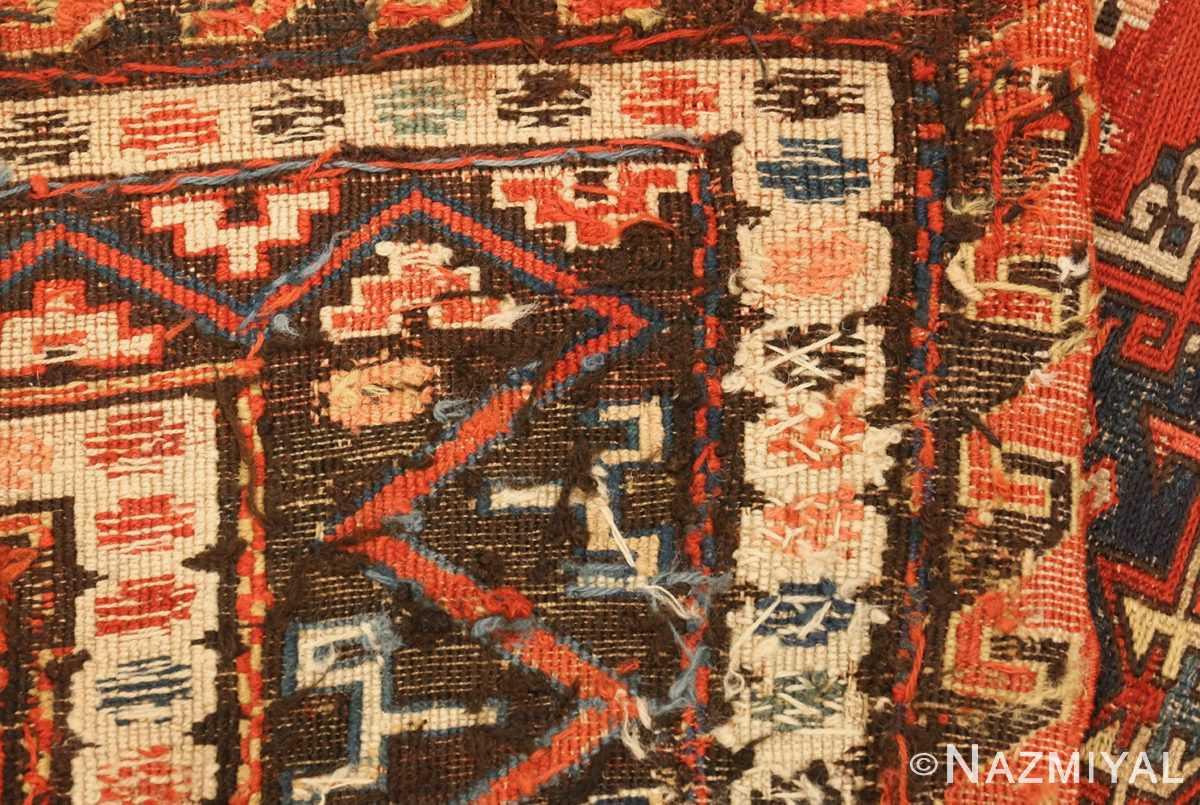 roomsize antique soumak caucasian rug 49340 weave Nazmiyal