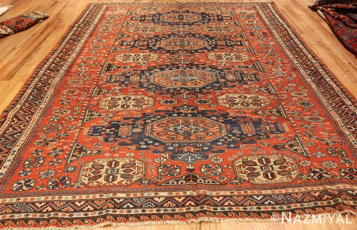 roomsize antique soumak caucasian rug 49340 whole Nazmiyal