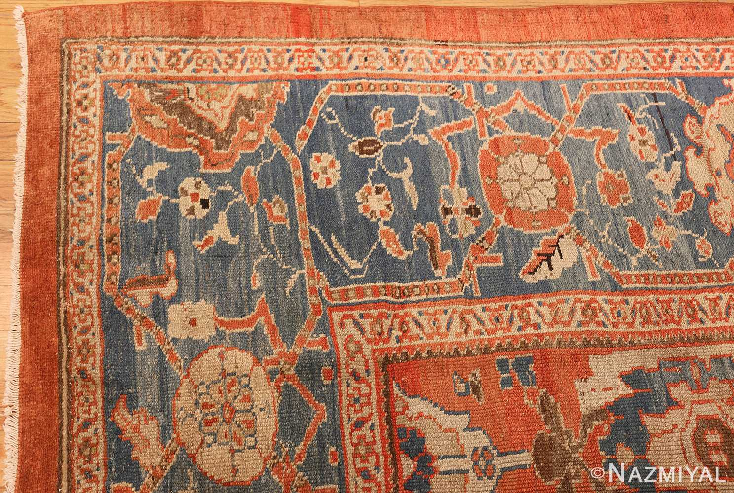 roomsize antique sultanabad persian rug 49361 corner Nazmiyal