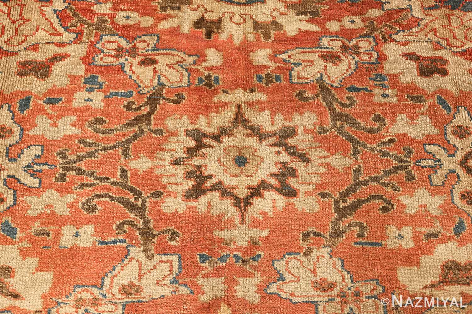 roomsize antique sultanabad persian rug 49361 light Nazmiyal