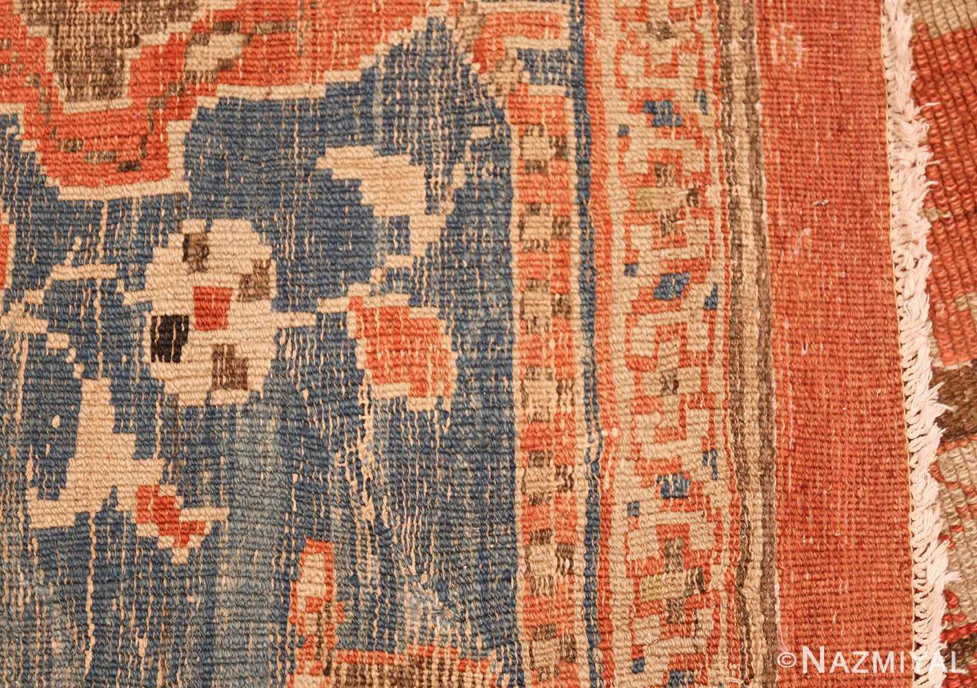 roomsize antique sultanabad persian rug 49361 weave Nazmiyal