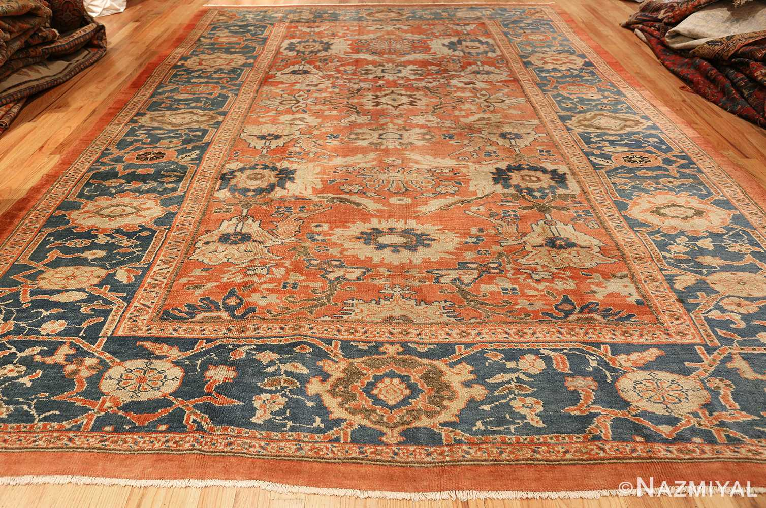 roomsize antique sultanabad persian rug 49361 whole Nazmiyal