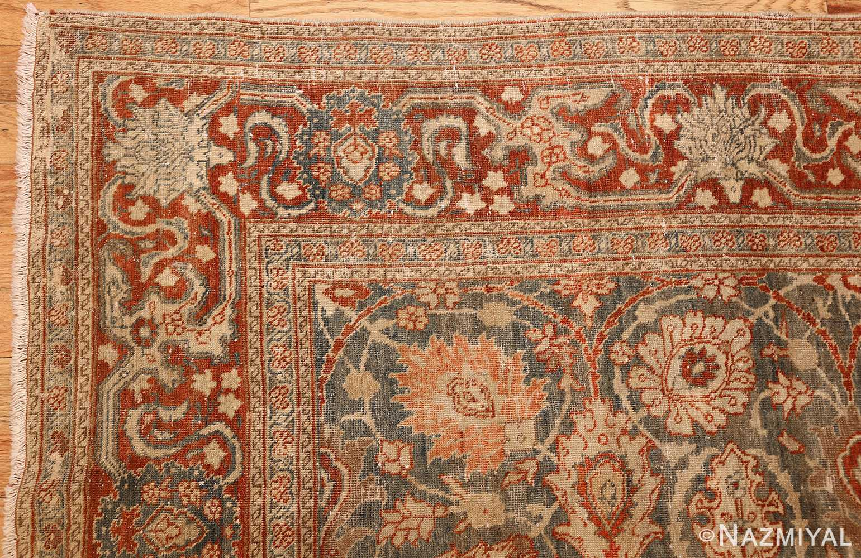 roomsize antique tabriz persian rug 49354 corner Nazmiyal