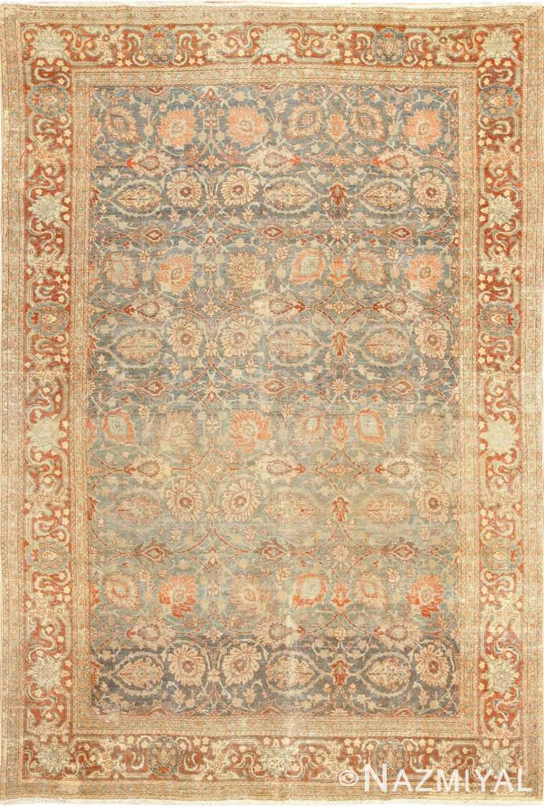 roomsize antique tabriz persian rug 49354 Nazmiyal