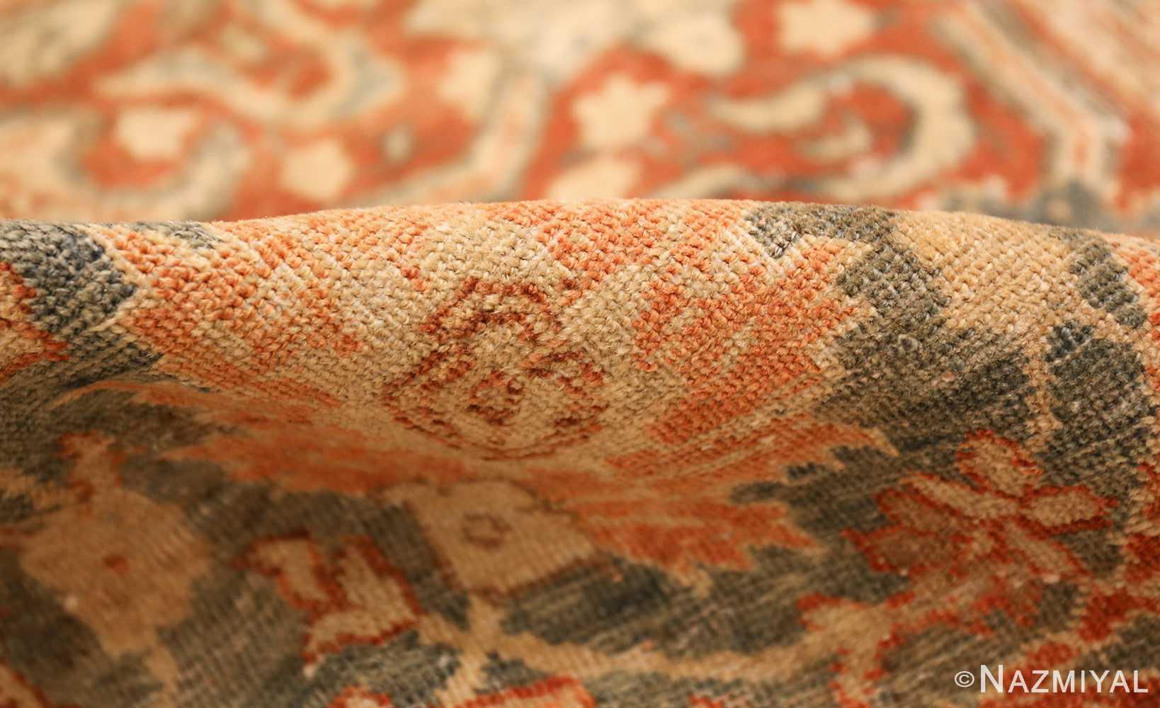 roomsize antique tabriz persian rug 49354 pile Nazmiyal