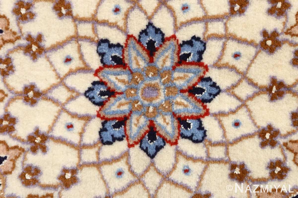 roomsize vintage isfahan persian rug 51148 blue Nazmiyal