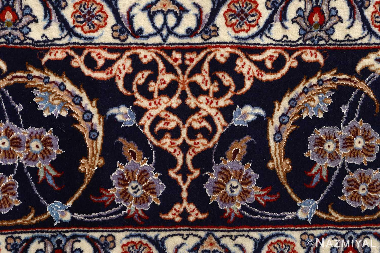 roomsize vintage isfahan persian rug 51148 border Nazmiyal