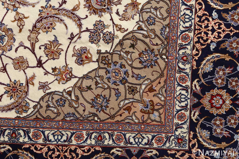 roomsize vintage isfahan persian rug 51148 design Nazmiyal